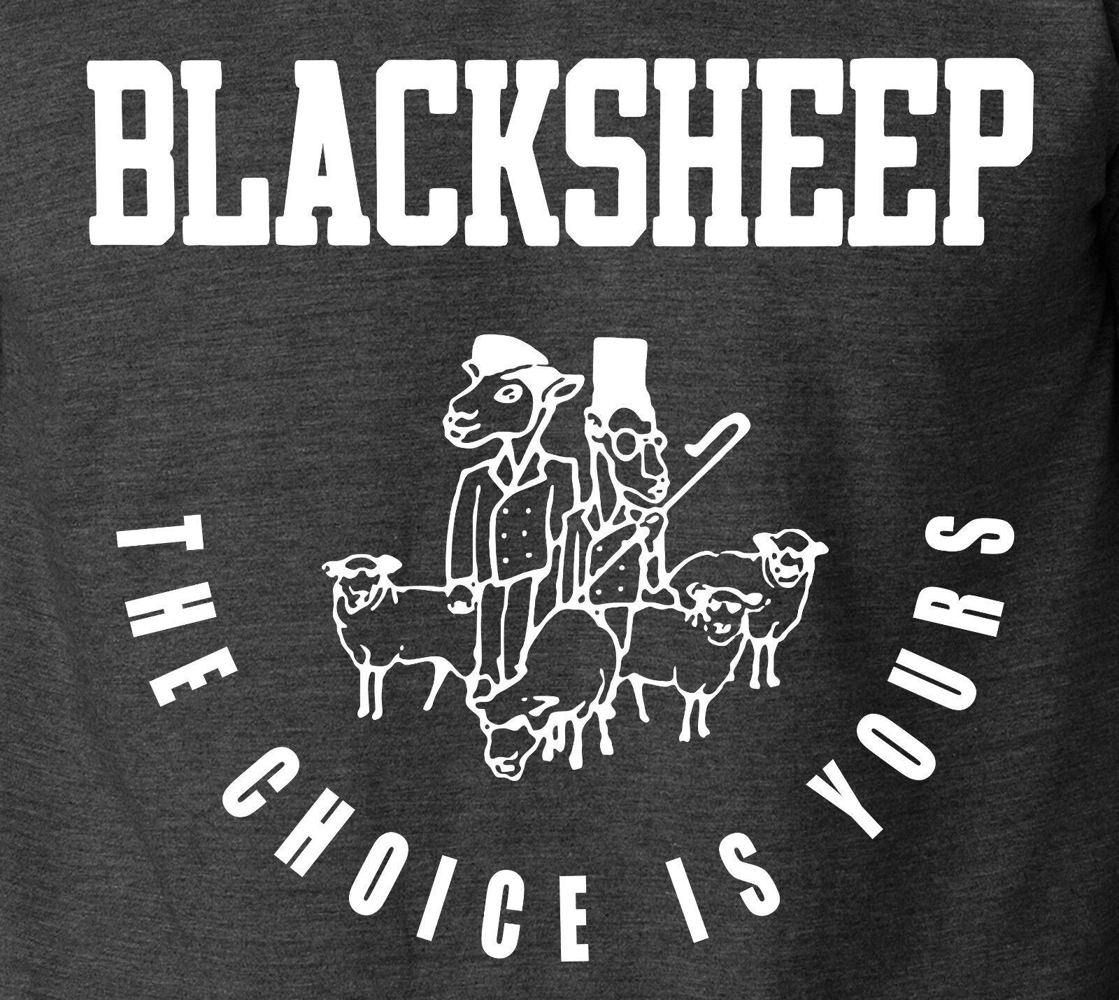 BLACK SHEEP The Choice is Yours 100/% Ringspun Cotton T-Shirt De La Soul Rap Tee