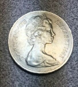5 new pence coin 1975