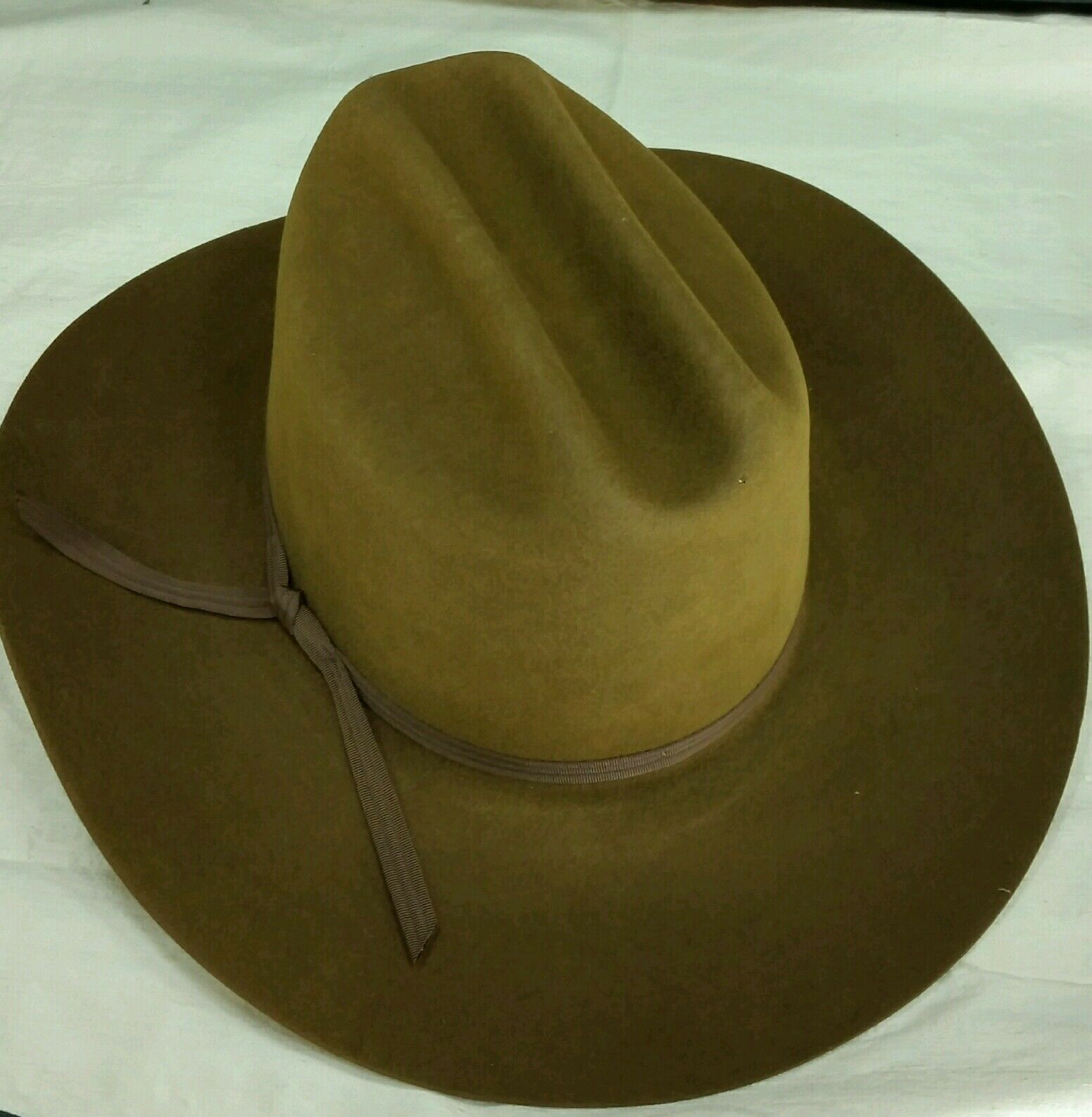 Reed Hill by Rodeo King Western Hat WHISKEY  BROWN 5X Beaver 6 7 8  - Made in USA  comfortable