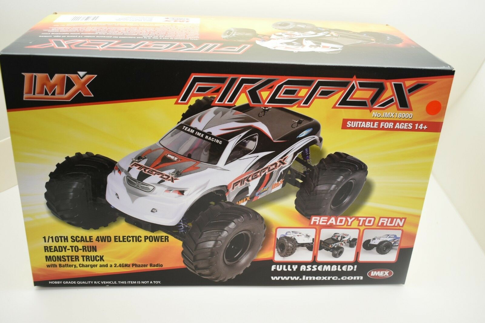 IMX 18000 FIREFOX 1 10TH SCALE 4WD ELECTRIC POWER GREAT STARTED CAR