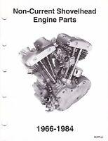 1966-1984 Harley Shovelhead Engine Parts Manual Catalog 1208 1340 Flh Fx 7-84
