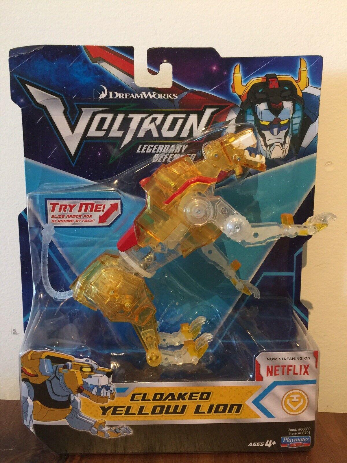 Voltron Legendary capa de defensa León - 5 Leones (nuevos   no abiertos)