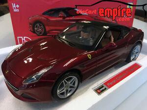 Bburago-firma-1-18-Ferrari-California-T-Cerrado-Top-Rosso-Rojo-18-16902