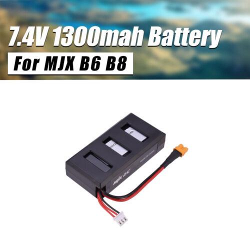 1300mAh XT-30 2S 7.4V Li-po Battery For MJX Bug B6//B8 RC Aircraft Quadcopter