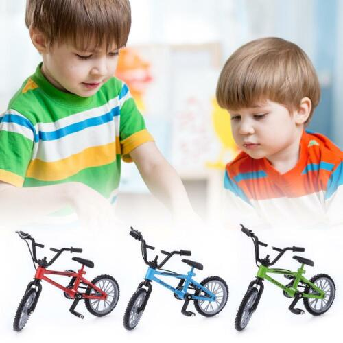 Mini Finger Mountain Bikes Diecast Nickel Alloy Stents Finger Bicycle #UK
