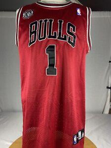 Adidas-Authentic-Derrick-Rose-Chicago-Bulls-Jersey-Men-s-Sz-Large