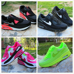 82801e34812 Image is loading RUNNING-TRAINERS-WOMEN-WALKING-SHOCK-ABSORBING-SPORTS -FASHION-