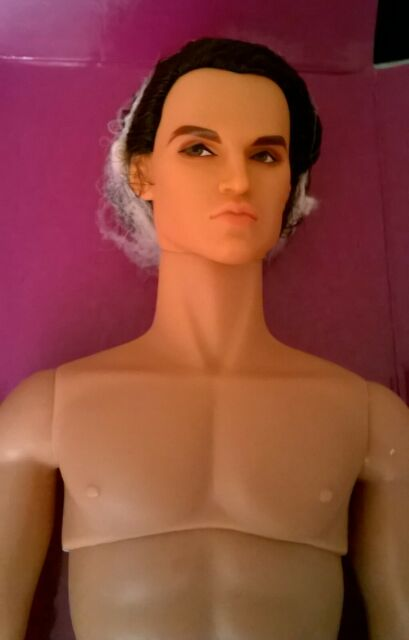 """12/"""" FR~Color Infusion Style Lab~Fabiana Diaz Nude Doll~Cinematic Convention~New"""