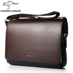 462a6557bf Hot Men s Handbags Casual Leather Bag Vertical Briefcase Shoulder ...