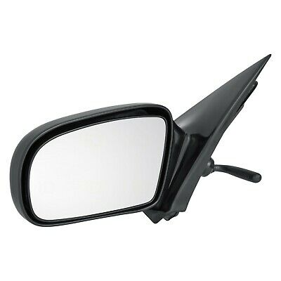 95-05 Chevy Cavalier Pontiac Sunfire Coupe Set Side View Manual Smooth Mirrors