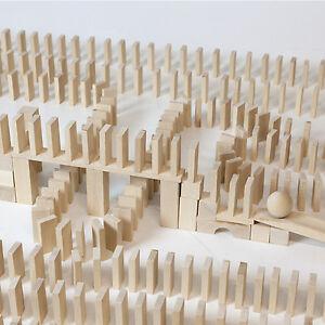 1630 blocs de construction dominos dominos hêtre Natiur Wood Fairy Wood Blocks Wood Blocks