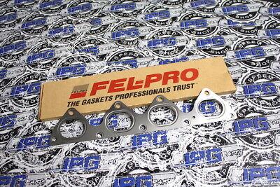 FEL PRO Exhaust Manifold Gasket Fits 1999-2000 Honda Civic Si B16 B16A Engines