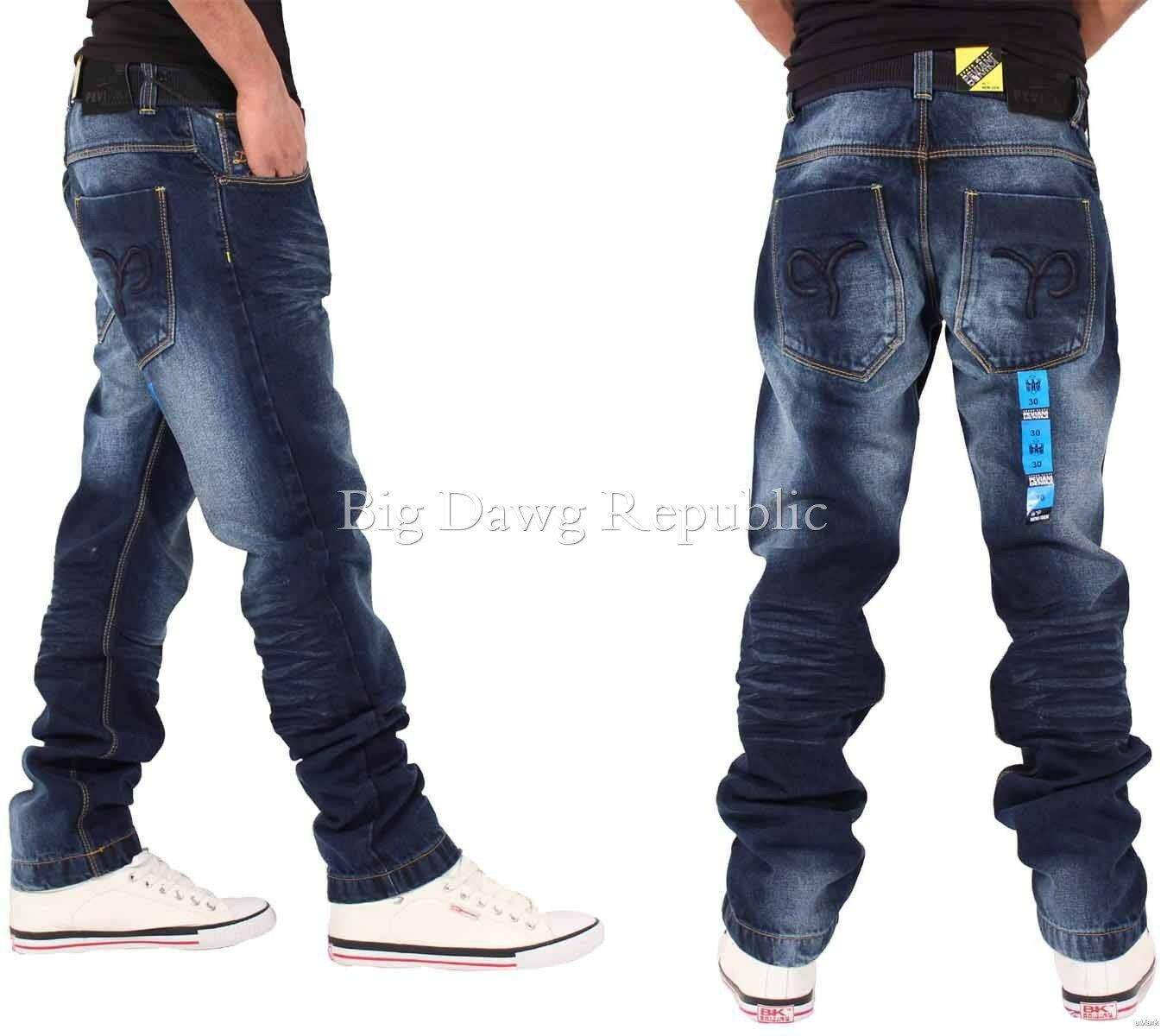 Peviani Men's Designer Denim Jeans, Is Time Money, Pants, Trousers, Buknham DB