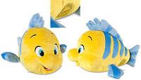 Disney Store The Little Mermaid 10 Small Flounder Fish Plush Ariel Friend