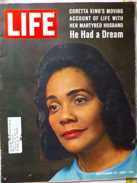 Vintage Life Magazine September 12, 1969