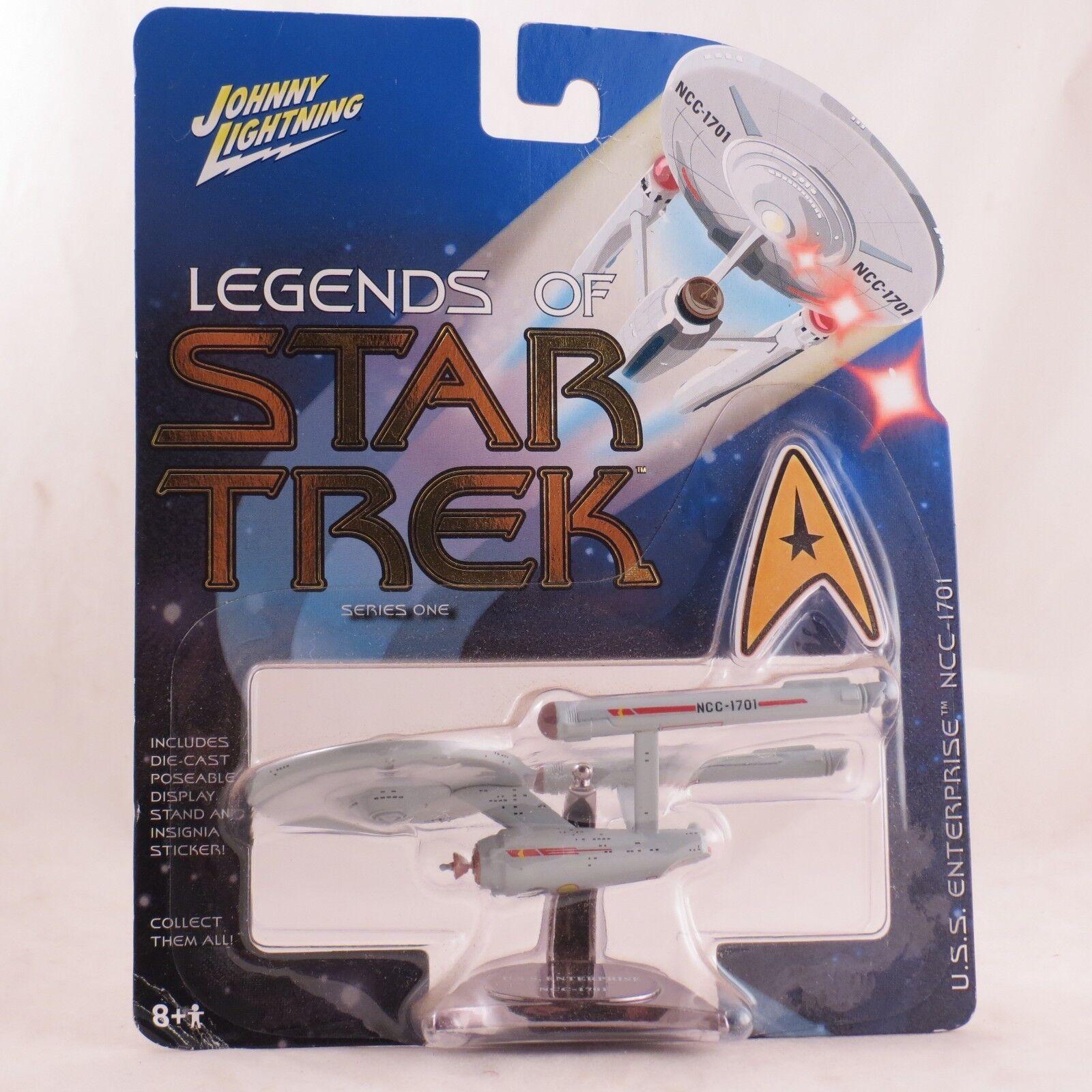 Star Trek Legends USS Enterprise NCC-1701 series 1 by Johnny Lightning