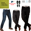 Motorbike-Motorcycle-Denim-Jeans-Trousers-Biker-With-CE-Armour-Protection-Aramid thumbnail 1