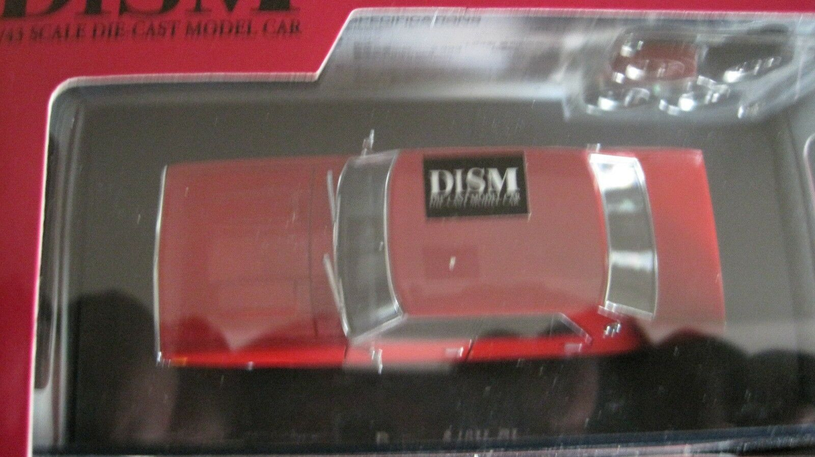 DISM 1 43 DATSUN 240K GL WITH SPARE MAGS AND TIRES DIE CAST MODEL NEW IN BOX