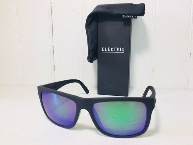 f6bb8afa6a4 Electric Swingarm S Matte Black Lime Ohm Grey Green Chrome Sunglasses  EE15261197 for sale online