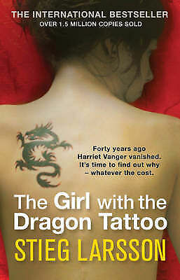 1 of 1 - The Girl with the Dragon Tattoo by Stieg Larsson (Paperback, 2008)