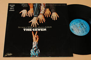 THE-SEVEN-LP-MEGA-RARE-PROG-1-ST-ITALY-1971-TOP-NM