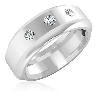 0.27CT DIAMOND FASHION MENS BAND Available Sizes 5 to 11