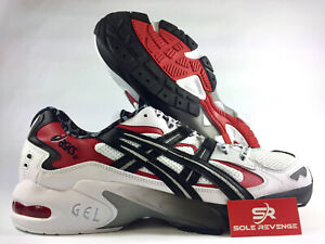 97dc58588e4d16 NEW ASICS Tiger GEL-Kayano 5 OG 1A182100 | Busha Pack White/Black ...