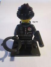 Légo 71013 Minifig Figurine Série 16 Spy Espion Voleur  socle + fiche