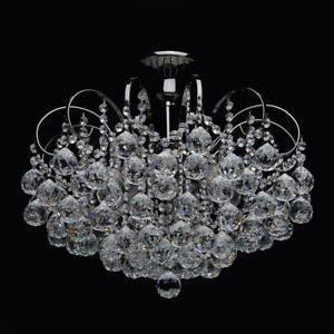 Lampadario Barocco Classico Colore Nero Lucido Metallo Gocce
