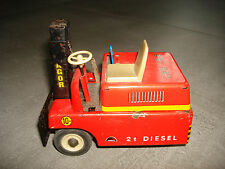 DDR Blechspielzeug - Gabelstapler STAGOR 2t Diesel Stapler