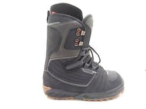 Vans-Snowboard-Boots-Millennium-Men-039-s-Size-9-Black-Lace-Up
