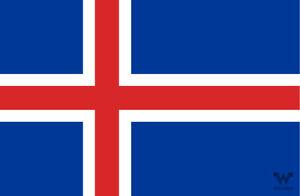 Flagge-Island-Aufkleber-8-5-x-5-5-cm-Fahne-Sticker-WHATABUS