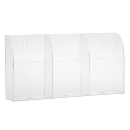 Air Conditional TV Remote Control Storage Case BoxAcrylic Wall Mounted