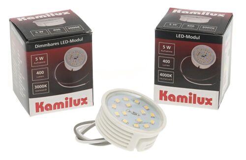 Kamilux® ultraflache LED Einbauleuchten Einbaustrahler K5402 Alu 5W 400Lm IP20