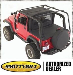 Image Is Loading Smittybilt SRC Roof Rack 2004 2006 Jeep Wrangler