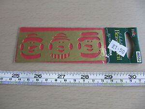 All-Night-Media-Plaid-Solid-Brass-Stencil-Embossing-Snowman-Snowmen-46552