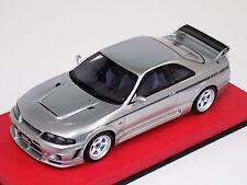 1/18 Otto GT Spirit Street Nissan Skyline GTR R33 400R Silver Leather OT670