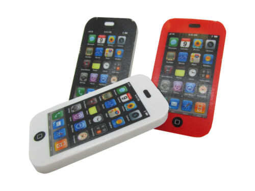 12x Radiergummi Handy Smartphone Radierer Mitgebsel Kindergeburtstag Schule 658