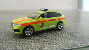 """700672-1:87 Notarzt Herpa Audi Q7 /""""Rettungszentrum Bundeswehr Hannover/"""""""
