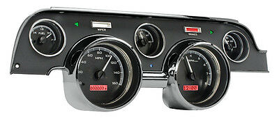 Dakota 67 Ford Mustang Reproduction Brushed Aluminum Style Bezel 610090