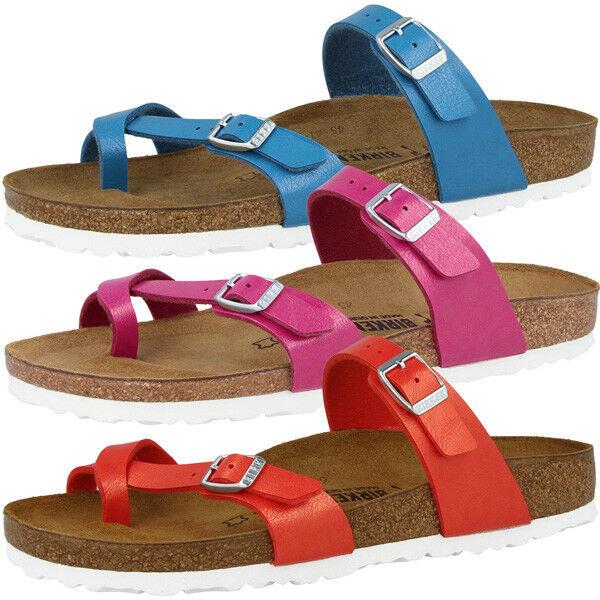 Birkenstock Mayari Birko-Flor Schuhe Graceful Zehensteg Sandale Pantoletten