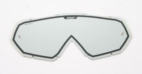 Mirror//Black THOR MX Motocross Genuine Replacement Lens for Hero//Enemy Goggles