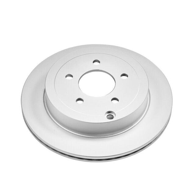 Disc Brake Rotor-Evolution Coated Rotors Rear Power Stop AR8180EVC