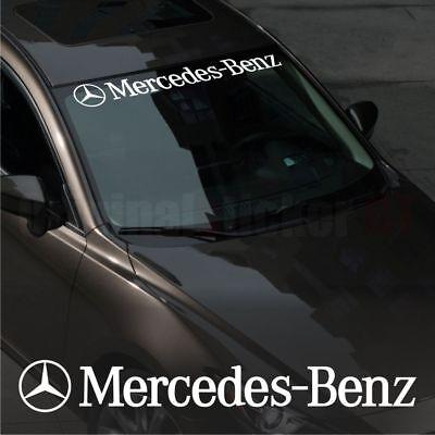 Mercedes-Benz WINDSHIELD CAR Premium STICKER vinyl decal #2  C-class A-class E