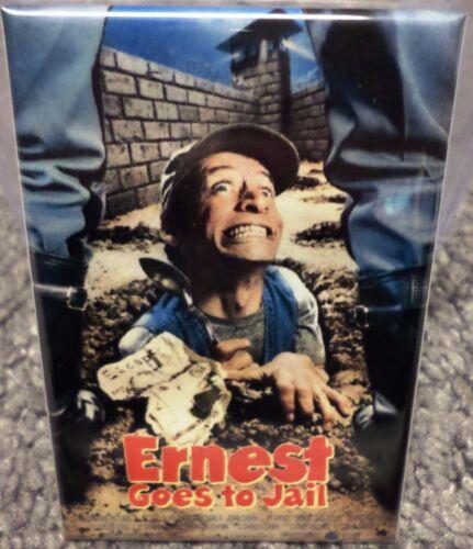 "Ernest Goes to Jail Movie Poster 2/"" x 3/"" Refrigerator Locker MAGNET"