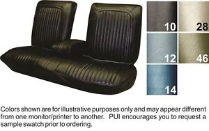Details about 1968 Oldsmobile Cutlass Supreme Front Seat Covers - PUI