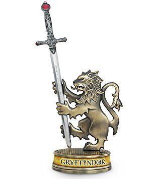 Harry Potter Gryffindor Sword Letter Opener Lion Display Prop Noble Collection
