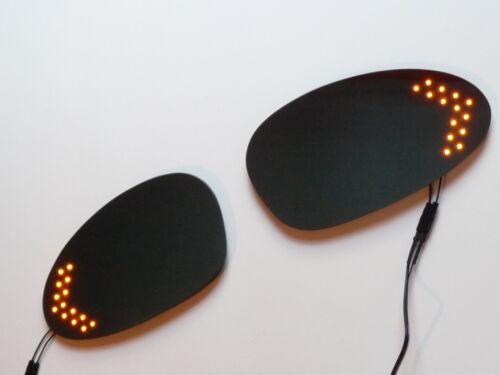 BMW LED Turn Signal Mirror Arrow Amber Repeater Light Anti Glare E81 E82 E87 E88