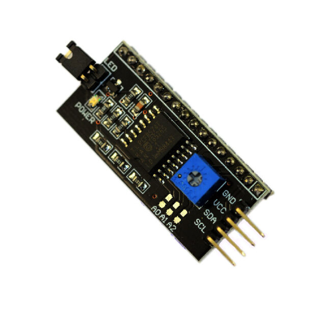1Pcs IIC/I2C Serial Interface Board Module For Arduino LCD1602 LCD2004 Display