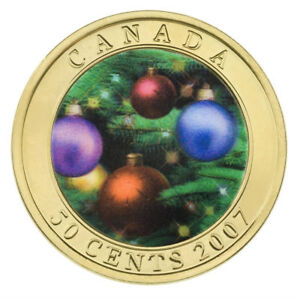 Holiday-Ornaments-2007-Canada-50-cent-Coin